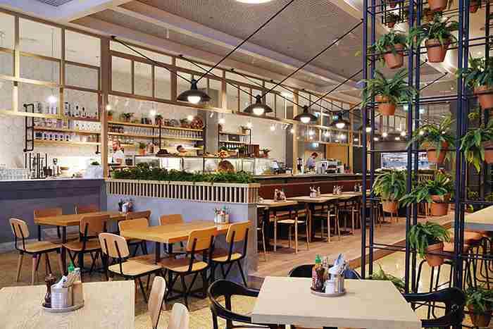 رستوران کامن گراندز دبی - غذای سلامتی - Common Grounds