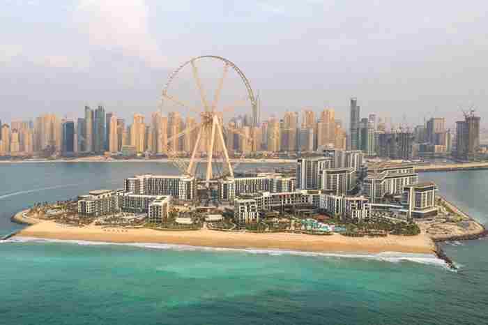 افتتاح جزیره بلوواترز در دبی