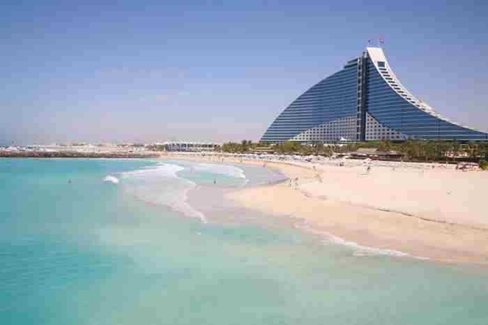 سواحل دبی در میان پاک ترین سواحل دنیا