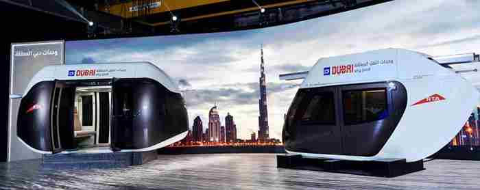 اسکای پاد - حمل و نقل مدرن در دبی
