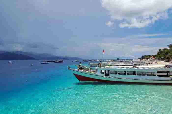 جزایر گیلی در جنوب شرق آسیا