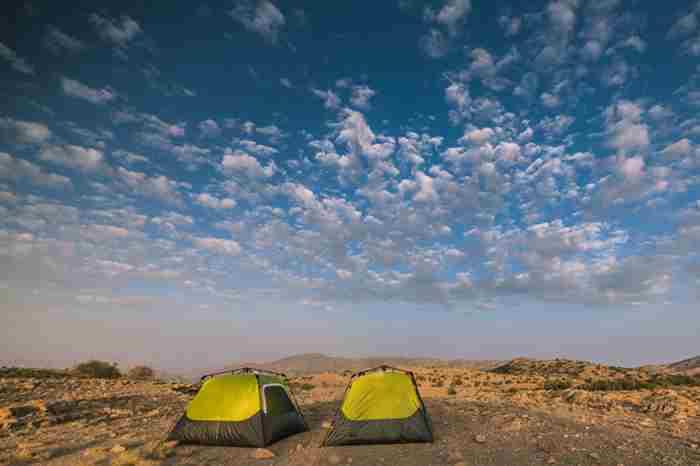 در دبی کجا کمپ بزنیم