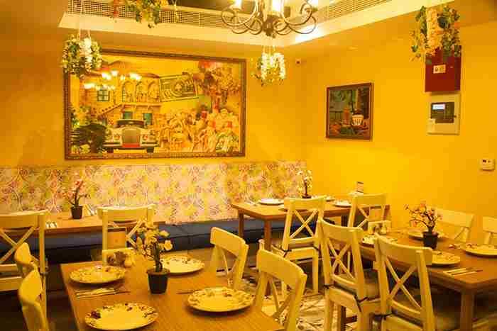 رستوران لبنانی ویلا بیروت دبی - Villa Beirut