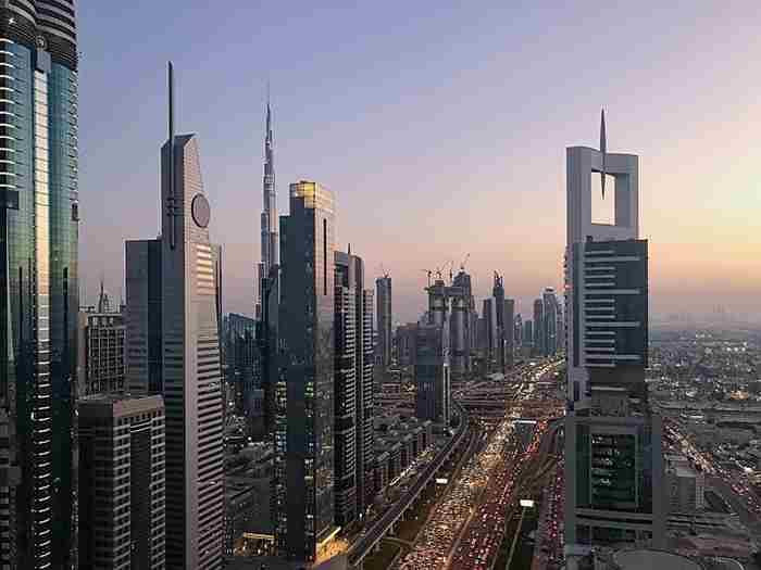 تجارت خارجی غیر نفتی دبی