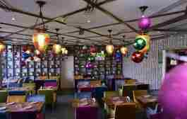 رستوران لبنانی زهر الرمان دبی - Zahr El Rouman