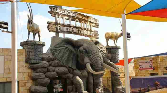 پارک باغ وحش امارات در ابوظبی