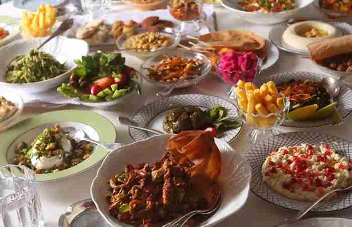رستوران لبنانی ام شریف