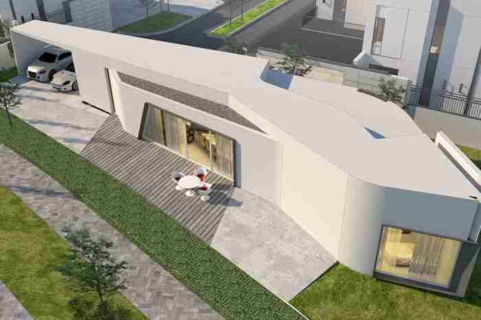 ساخت خانه با پرینتر سه بعدی در امارات