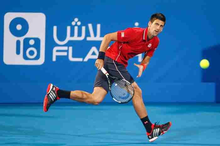 در دبی کجا تنیس بازی کنیم