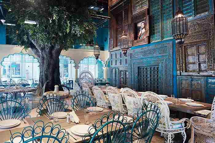 رستوران بمبای بانگلو دبی - Bombay Bungalow