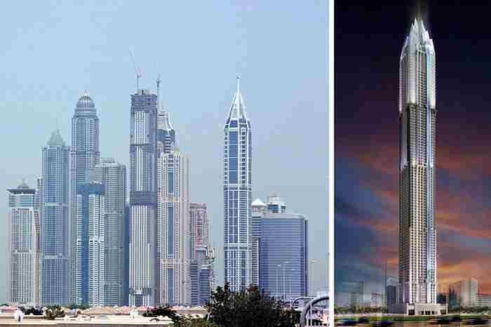 بلندترین هتل جهان