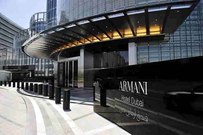 هتل آرمانی دبی - Armani