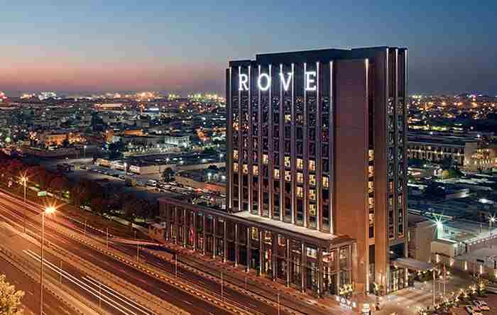 هتل راو ترید سنتر دبی - Rove Trade Centre