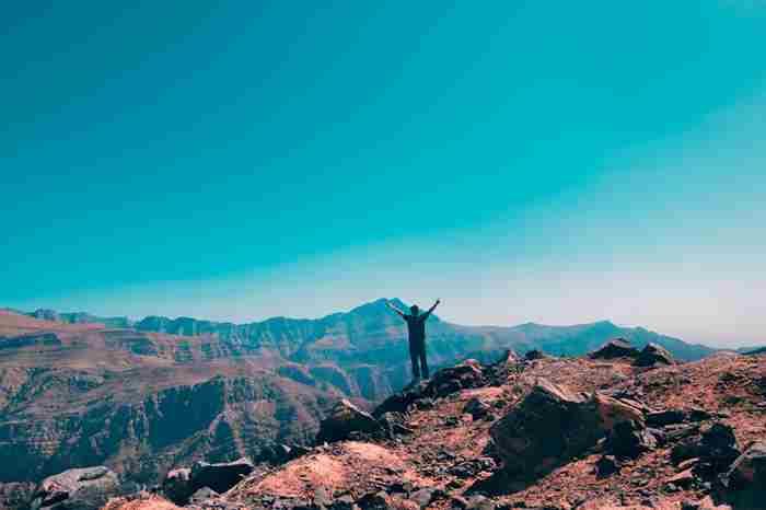 ماجراجویی در کوه جیس بلندترین کوه امارات
