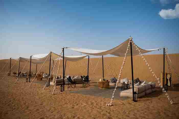 تجربه زندگی صحرایی در دبی