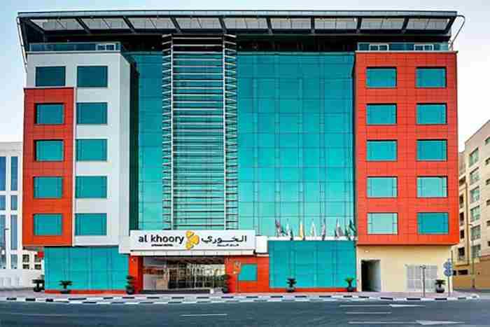 هتل الخوری اتریوم دبی - Al Khoory Atrium