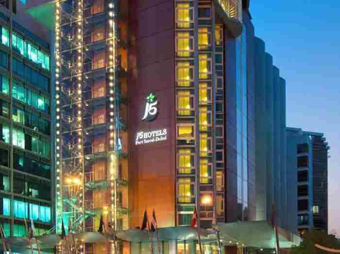 هتل جی فایو پورت سعید دبی - J5 Port Saeed