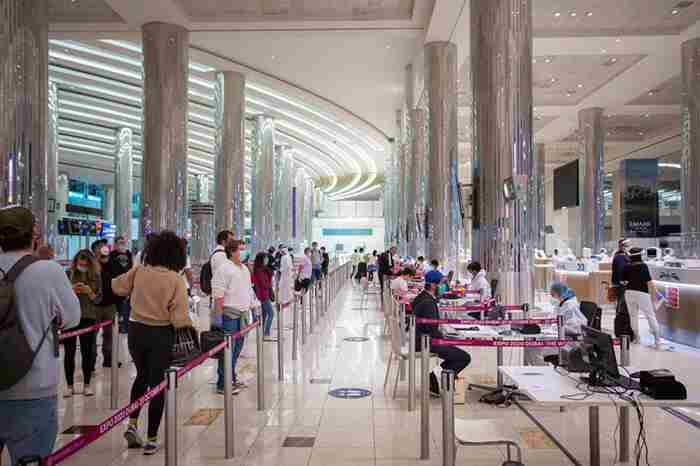 فرودگاه دبی در زمان کرونا