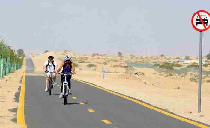 دوچرخه سواری در دبی آسان تر میشود