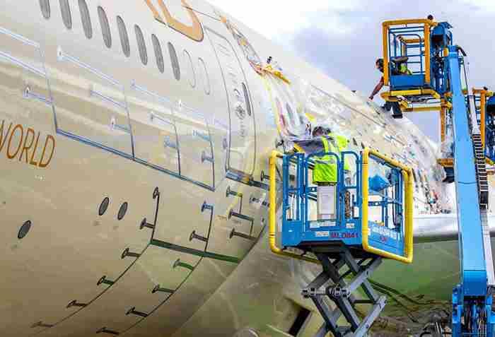 همکاری شرکت هواپیمایی اتحاد امارات با ناسا