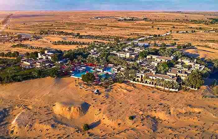 هتل صحرایی باب الشمس دبی - Bab Al Shams Desert Resort