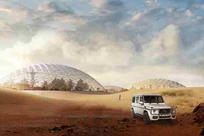 برنامه های امارات در مریخ