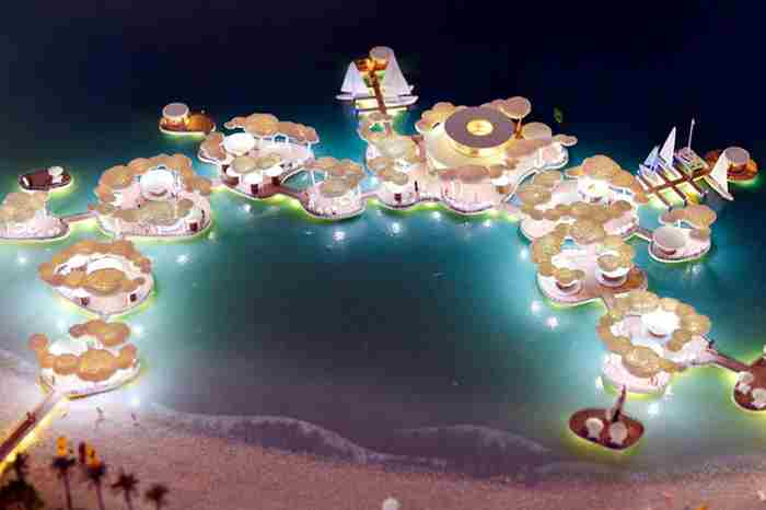 دبی صاحب سواحل تفریحی جدید می شود