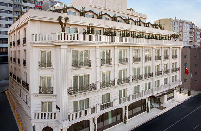 هتل لازونی استانبول - Lazzoni
