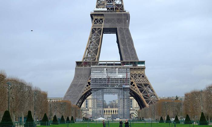 برج ایفل برای المپیک 2024