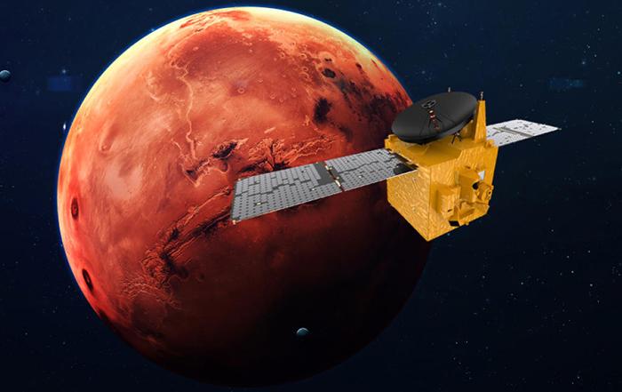 نتایج کاوشگر مریخ امارات
