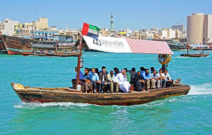 وسایل نقلیه عمومی در دبی