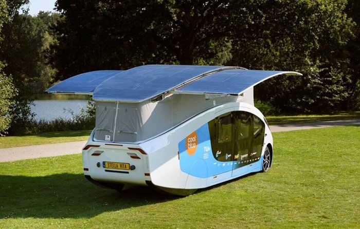 خانه های چرخ دار خورشیدی